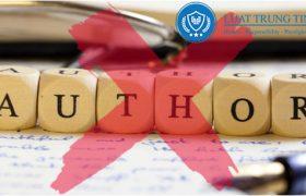 hành vi xâm phạm quyền tác giả