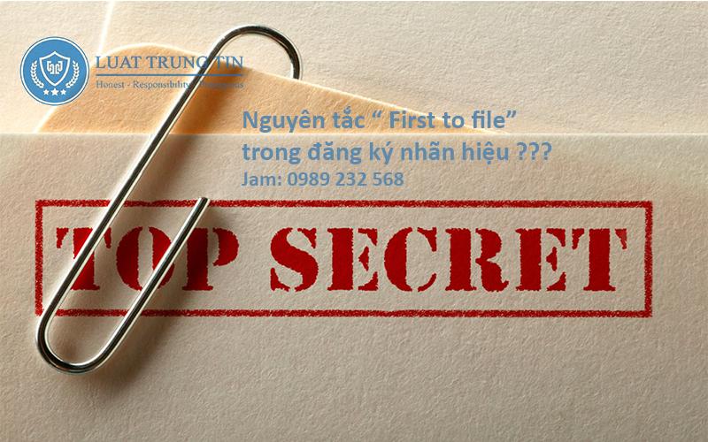 nguyên tắc First To File trong sở hữu trí tuệ