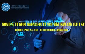 nhà đầu tư nước ngoài góp vốn vào công ty Việt Nam
