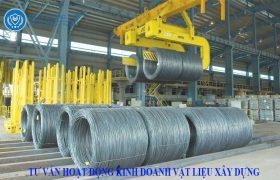 đăng ký kinh doanh vật liệu xây dựng