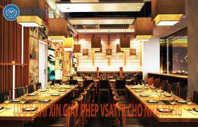 giấy phép VSATTP cho nhà hàng