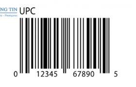 đăng ký sử dụng mã UPC