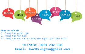 mở công ty đào tạo ngoại ngữ
