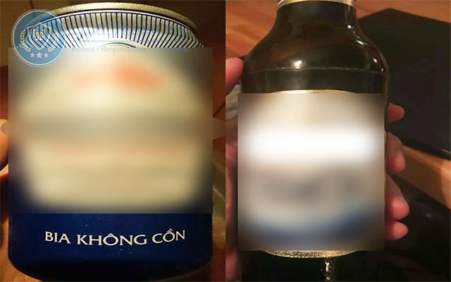 công bố bia không cồn ( tách cồn)