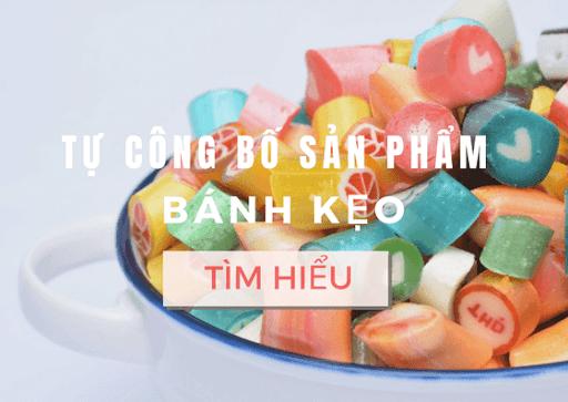 tự công bố chất lượng bánh kẹo nhập khẩu