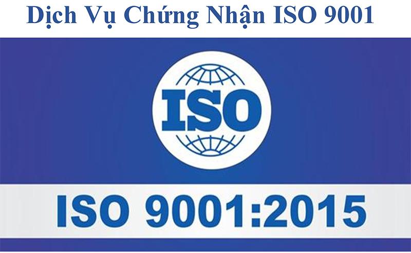 dịch vụ chứng nhận ISO 9001:2015