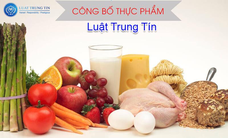 Dịch vụ về công chất chất lượng sản phẩm thực phẩm của Luật Trung Tín